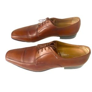 Santoni made in Italy leather shoes